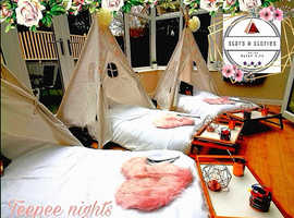 Affordable Themed Birthday Teepees