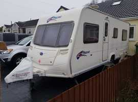 2008 FIXED BED 4 BERTH BAILEY PAGEANT SERIES 6. AUTOMATIC MOTOR MOVER. ACCESSORIES. LOVELY CONDITION