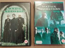 The Matrix dvds x 2