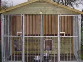 Reeves Blenheim range double kennel