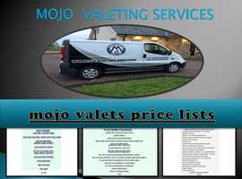mobile valeting services