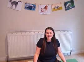 121 Adult Trauma Sensitive Yoga & Pilates & Childrens Play Based Yoga (Greater Manchester)