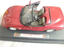 CHEVROLET CORVETTE CONVERTABLE 1:24 SCALE £15