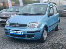 Fiat Panda, 2006 (56) Blue Hatchback, Manual Petrol, 25,000 miles