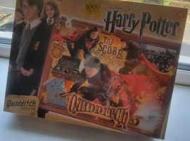 Harry Potter 1000 piece Quidditch puzzle UNOPENED