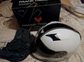 Frank Thomas FT36V Retro full face crash helmet, size medium