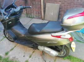 honda s wing 125 scooter 2014 2 owners none runner only runs on easy start spares or repair