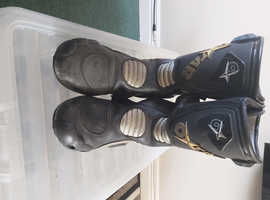 Oxstar race motorcycle boots