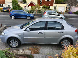 Chevrolet Lacetti, 2006 (06) Silver Hatchback, Manual Petrol, 145,000 miles