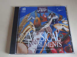 Microsoft Musical Instruments PC CD ROM