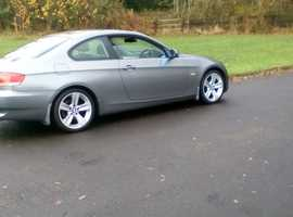 BMW 3 Series, 2009 (58) Grey Coupe, Manual Petrol, 82,000 miles NEW ENGINE JUST FITTED