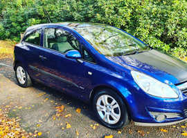 Vauxhall Corsa, 2007 (57) blue hatchback, Manual Petrol, 53,500 miles