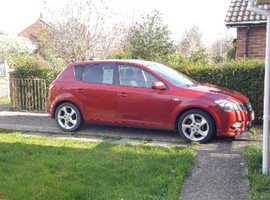 Kia Ceed, 2012 (12) Red Hatchback, Automatic Diesel, 109,455 miles