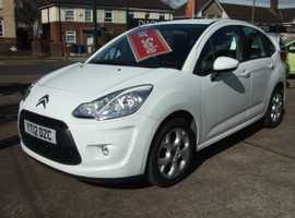Citroen C3, 2012 (12) White Hatchback, Manual Petrol, 81,740 miles