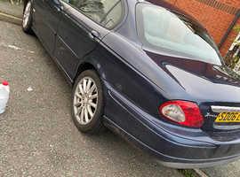 Jaguar X-TYPE, 2006 (06) Blue Saloon, Manual Diesel, 146,289 miles