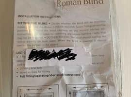 John Lewis beautiful Roman Blind- new