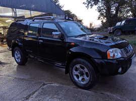 Nissan Navara, 2005 Black 'SPARES OR REPAIR' #48