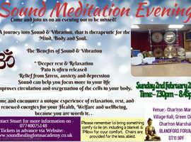Sound Meditation Evening (Gong Bath)
