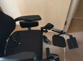 Sedeo seating and positioning electric wheelchair.
