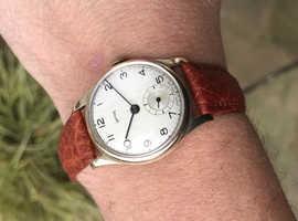 Smiths RG 1949 9ct gold Presentation Watch