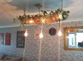 Something unique for the ceiling or pub bar