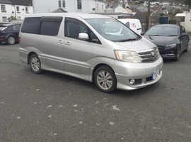 Toyota Alphard, 2002 (52) Silver MPV, Automatic Petrol, 120,000 miles