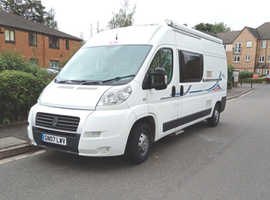 Adria Twin on 2007 Ducato LWB. 2.3 ltr 6 speed manual. 27,960 mls. MOT to July 22. Good. cond. No rust /damp.