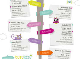Busylizzy Runnymede- Pre andPostnatal Fitness and Baby classes