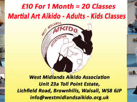 Brownhills, Walsall - Aikido Martial Art Beginners Introductory Price Only £10 For 1 Months Training