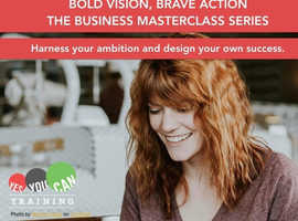 Bold vision, brave action: THE BUSINESS MASTERCLASS SERIES