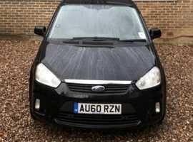 Ford C-Max, 2010 (60) Black MPV, Manual Petrol, 73,000 miles
