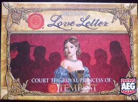 'Court the Royal Princess of Tempest' Seiji Kanai Love Letter Card Game (new)