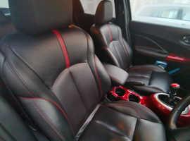 Nissan Juke, 2014 (64) Black Hatchback, Manual Diesel, 39,783 miles