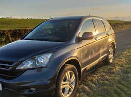 Honda CR-V, 2012 (12) Grey Estate, Manual Diesel, 94,200 miles