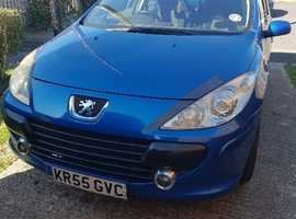 Peugeot 307, 2006 (55) Blue Estate, Manual Diesel, 138,548 miles