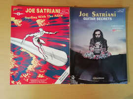 2 rare Joe Satriani guitar tab books