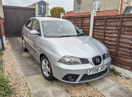 Seat Ibiza, 2008 (08) Grey Hatchback, Manual Petrol, 44,994 miles