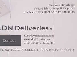 24/7 Door to Door Delivery/Courier Service
