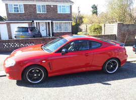 Hyundai Coupe, 2005 (54) Red Coupe, Manual Petrol, 82,654 miles