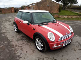 Mini Cooper2004 (53) Red Hatchback, Manual Petrol, 114,000 miles