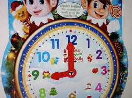 Elf bedtime clock