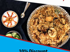 10% Discount On Takeaway Orders Over £20 | Momtaj Bootle