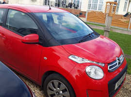 Citroen C1, 2018 (18) Red Hatchback, Manual Petrol, 3,300 miles