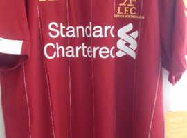 New Liverpool foot ball shirt
