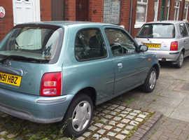 Nissan Micra, 2001 (51) Grey Hatchback, Manual Petrol, 92,000 miles