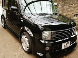 Nissan Cube, 2004 (04) Black Hatchback, Semi auto Petrol, 61,000 miles