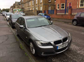 BMW 3 Series, 2009 (59) Grey Saloon, Manual Petrol, 56,000 miles