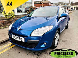 Renault Megane, 2011 (11) Blue Hatchback, Manual Diesel, 80,939 miles