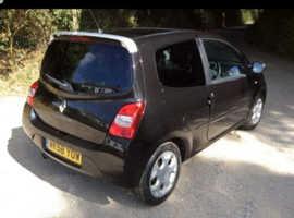 Renault Twingo, 2008 (58) Black Hatchback, Manual Petrol, 81,000 miles