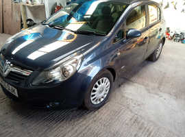 Vauxhall Corsa, 2007 (56) Blue Hatchback, Manual Petrol, 109,000 miles